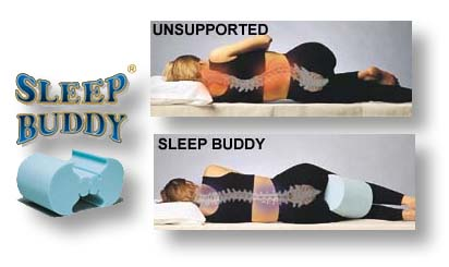 Sleep Buddy Knee Spacer Spine Reliever Support Cushions