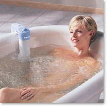 Ultra Jet Deluxe Whirlpool Bathtub Spa for your bath tub Back